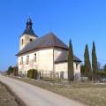 Barokní kostel sv. Antonína Paduánského postavený v roce 1697