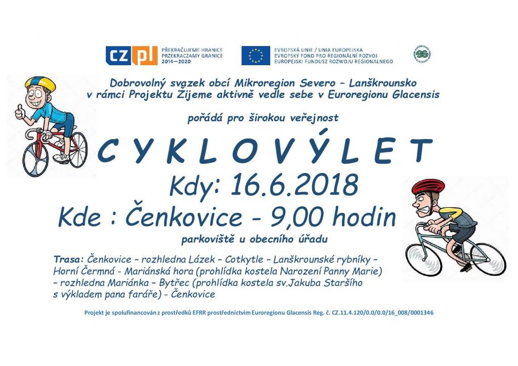 Plakát - cyklovýlet-